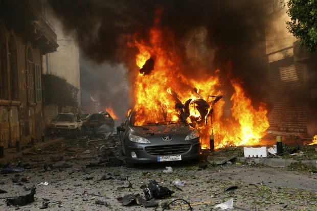 Beirut_Bombing_Car_Burning_Ashrafieh-e1350668551749